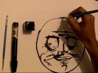 Draw Forever Alone, Me Gusta, True Story, Troll face.