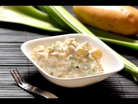 Ensalada de papa con mayonesa - Potato Salad
