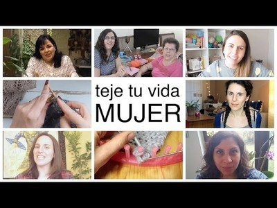 """Féliz día Internacional de la Mujer """"Saludos de Maricita Colours y grandes Mujeres del tejido!"""