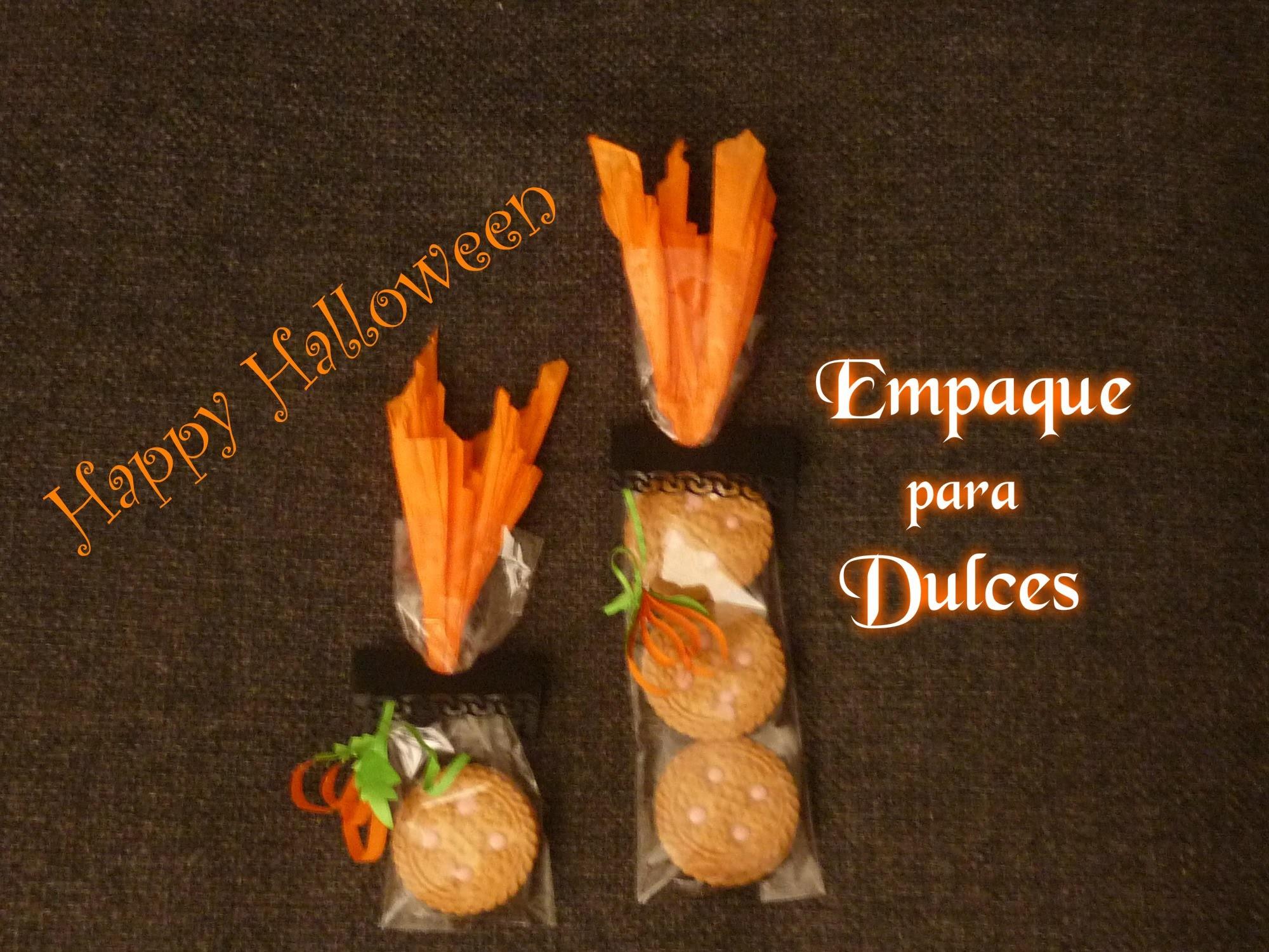 Manualidades para Halloween:COMO EMPACAR DULCES para HALLOWEEN (fácil)- CREA MANUALIDADES