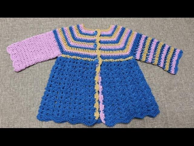 Sueter para Bebe 3 Colores Crochet