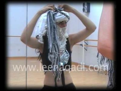 """Tutorial: Cómo hacerse un turbante I - Modelo """"Sahara"""""""