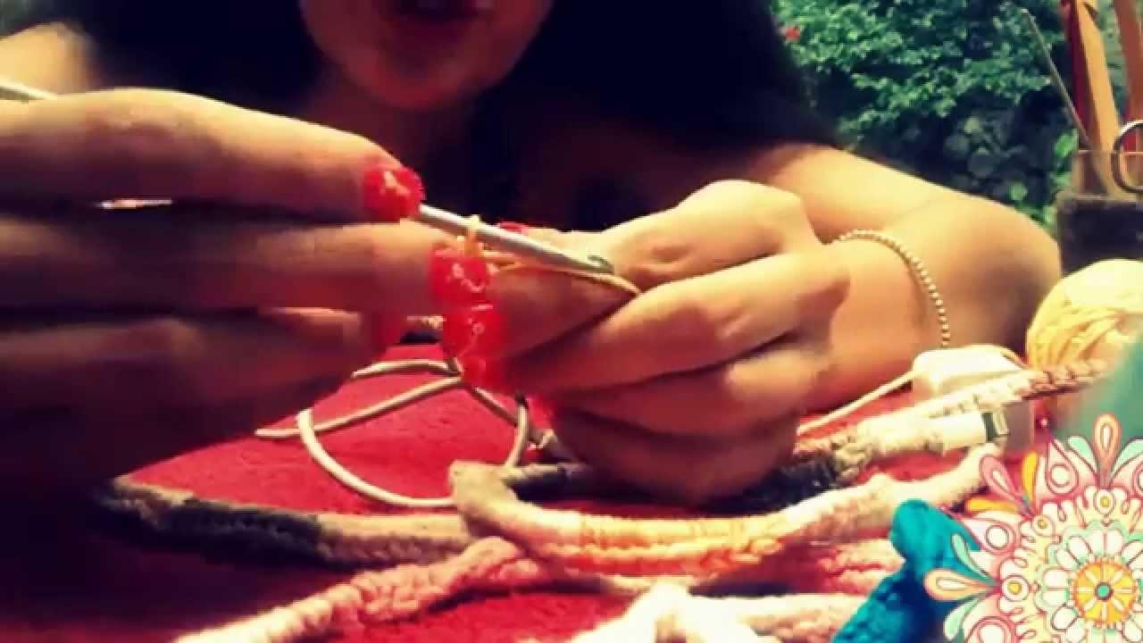 Cable de telefono con  crochet