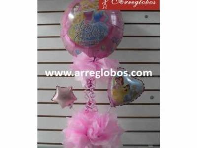 Centros de mesa con globos www.arreglobos.com