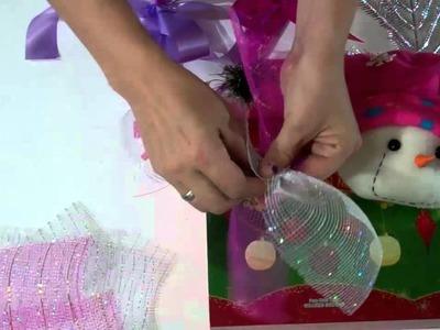 Como decorar caja de navidad.How to decorate christmas box