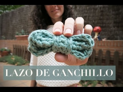 Cómo hacer un lazo de ganchillo | Crochet lace