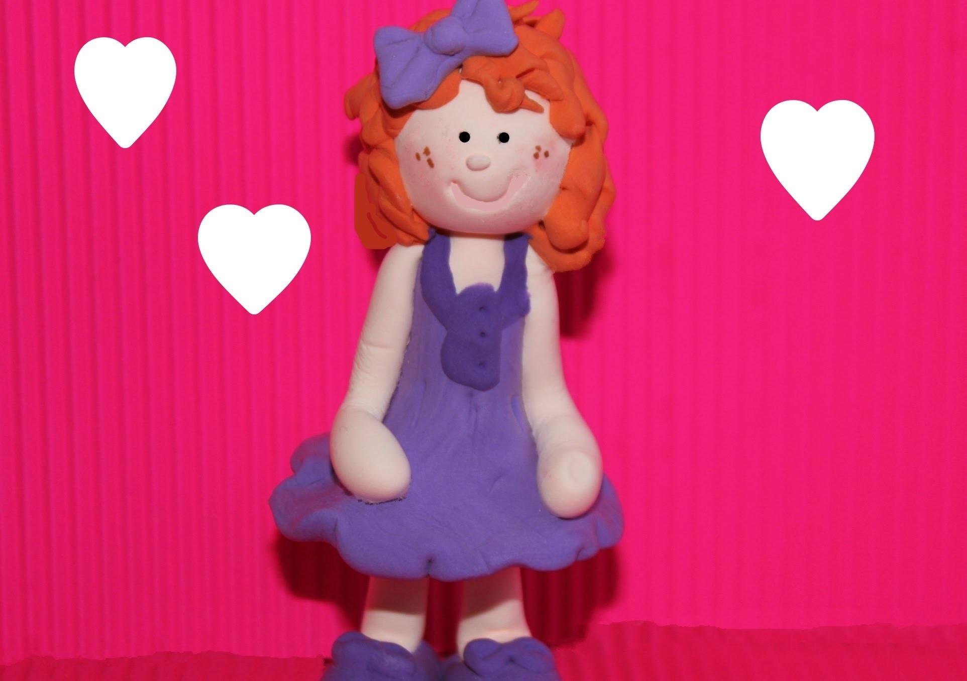 Cómo modelar muñeca Fofucha fácil y por 50 céntimos