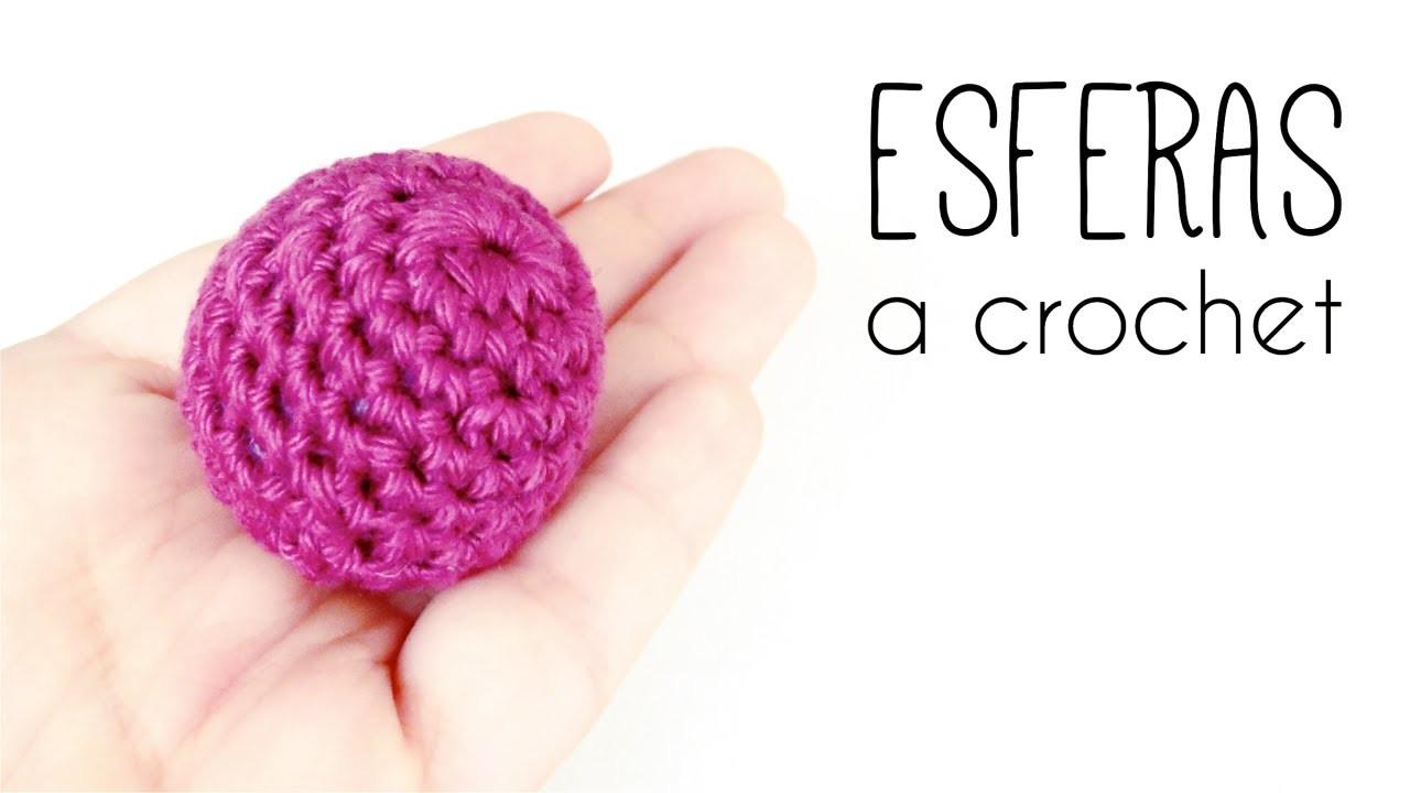 Como tejer una ESFERA a crochet (ganchillo) TODOS LOS TAMAÑOS   How to crochet a SPHERE in ALL SIZES