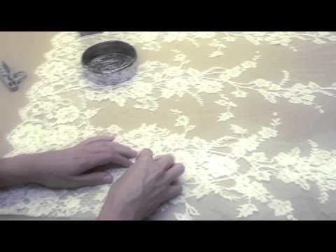 Creación de un vestido de novia. How we create the wedding gowns