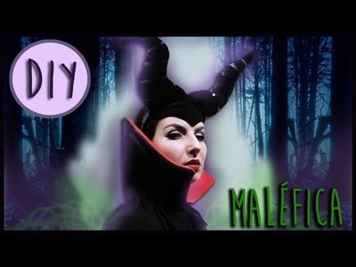 DIY:Diadema de Malefica. How to make Maleficent horns