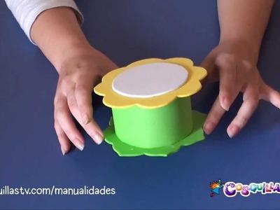 DIY Manualidad: Una caja con Goma Eva