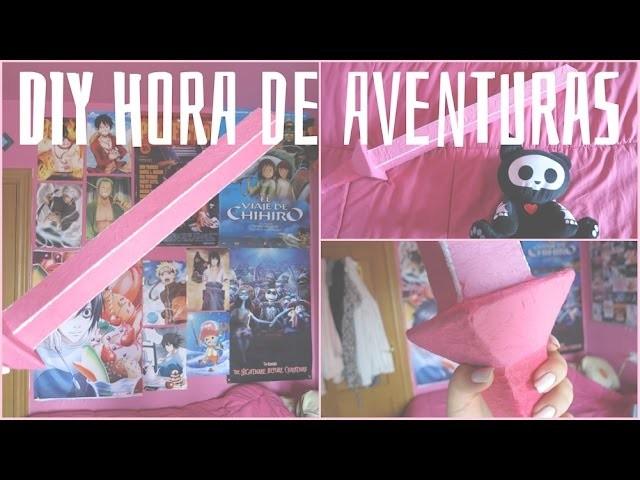 Espada de Fionna   DIY Hora de Aventuras