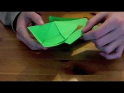 Hacer rosa de papel 2