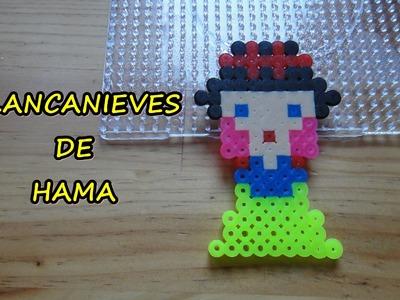 BLANCANIEVES DE HAMA, PERLER, PYSSLA