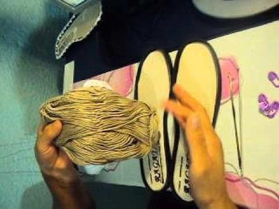 Botas tejidas a crochet para dama parte 1 Tejiendo con Patito.