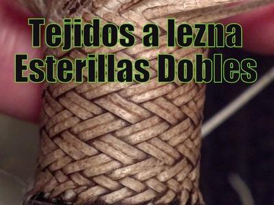 """Cabo Tejido a Lezna """"Esterilla doble"""" """"El Rincón del Soguero"""""""