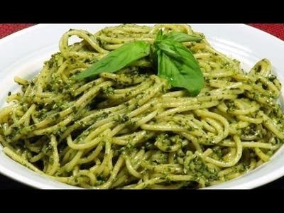 Cocinar Espagueti en crema de espinaca  (Rico Facil y rapido)