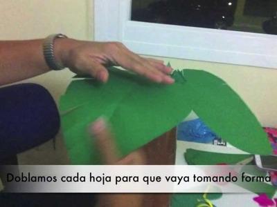 Cómo hacer una palmera