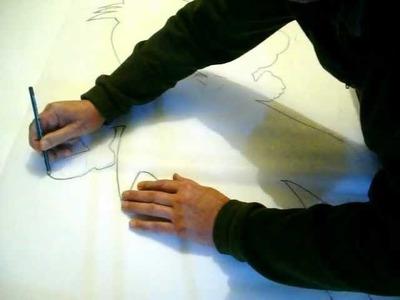 Como marcar un dibujo sobre telgopor