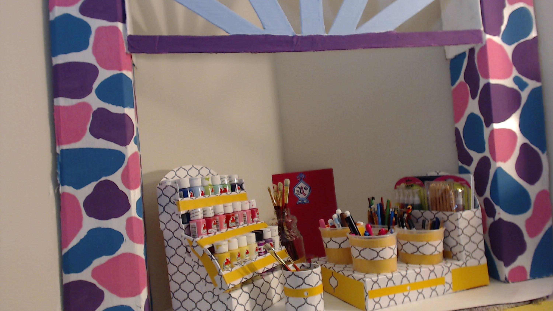 DIY Como Hacer un Organizador para Marcadores, Colores y Lapices-MANUALIDADES