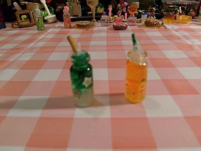 DIY Dije de refresco miniatura precioso