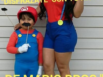 DIY DISFRAZ DE  MARIO BROS PARA MAMAS(Disfrazate con  tu hijo)