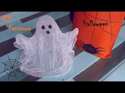 DIY: Fantasma para Halloween.
