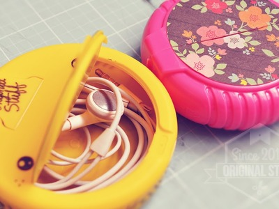 Estuche para audífonos [DIY] #BackToSchool