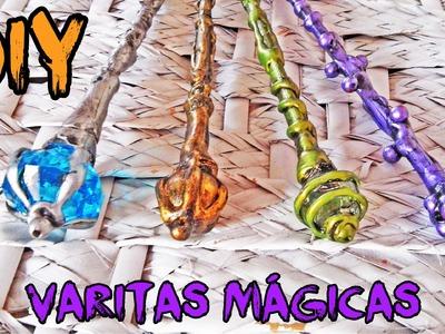 HALLOWEEN DIY ♥ Varitas mágicas ♥