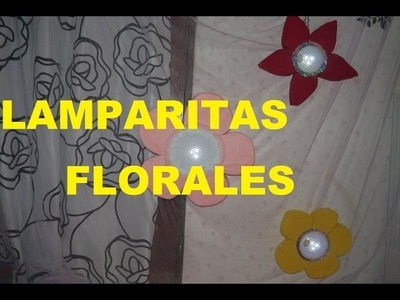 Manualidades: Lamparas Florales - JuanCarlos960