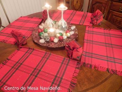 Manualidades para Navidad: DIY: Centro de Mesa Navideño