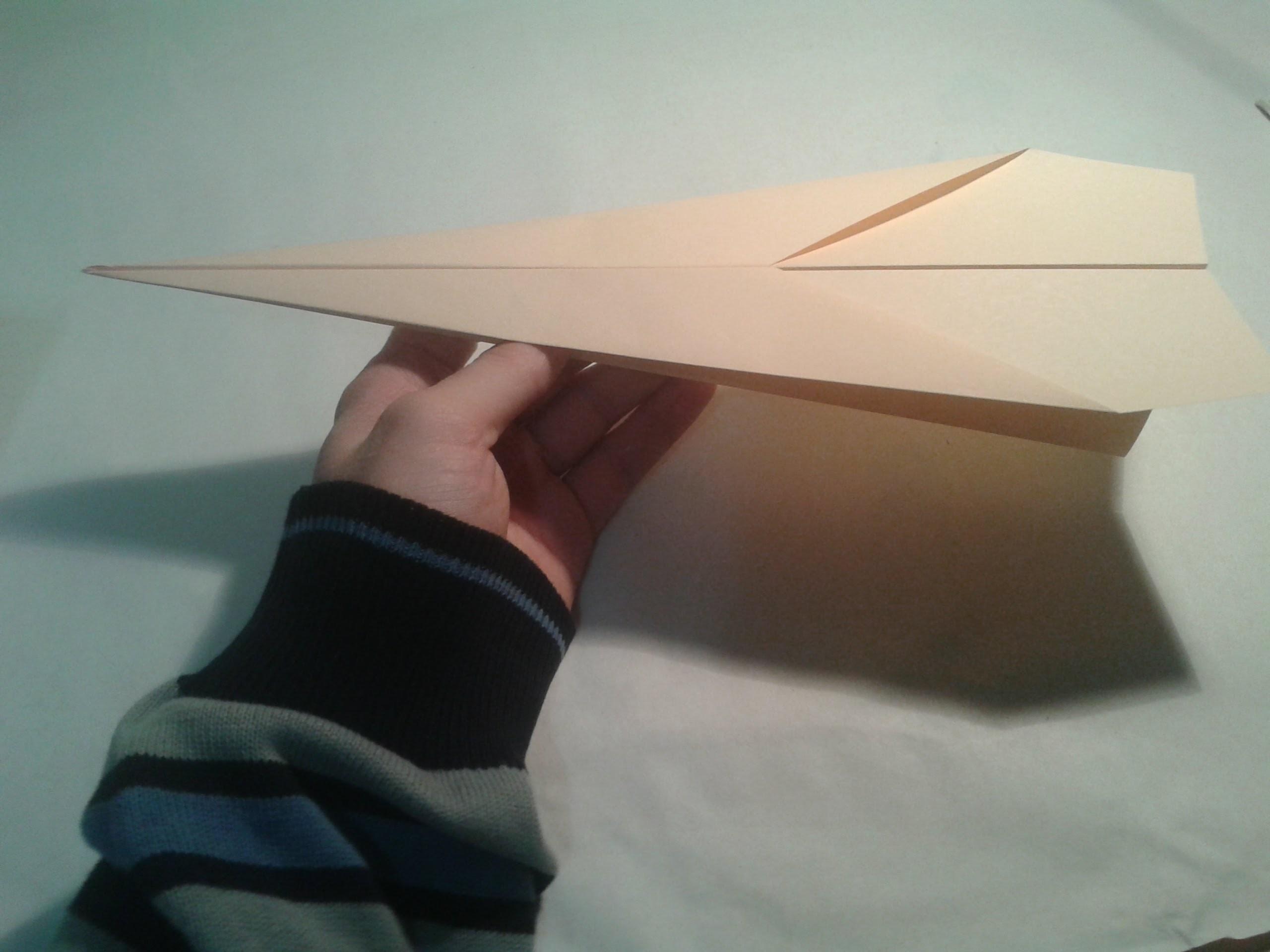 Origami para principiantes: #2 Como hacer un avión de papel