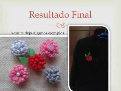 Tutorial DIY: Cómo hacer broche de fieltro facil (http:.fieltroycia.wordpress.com.)
