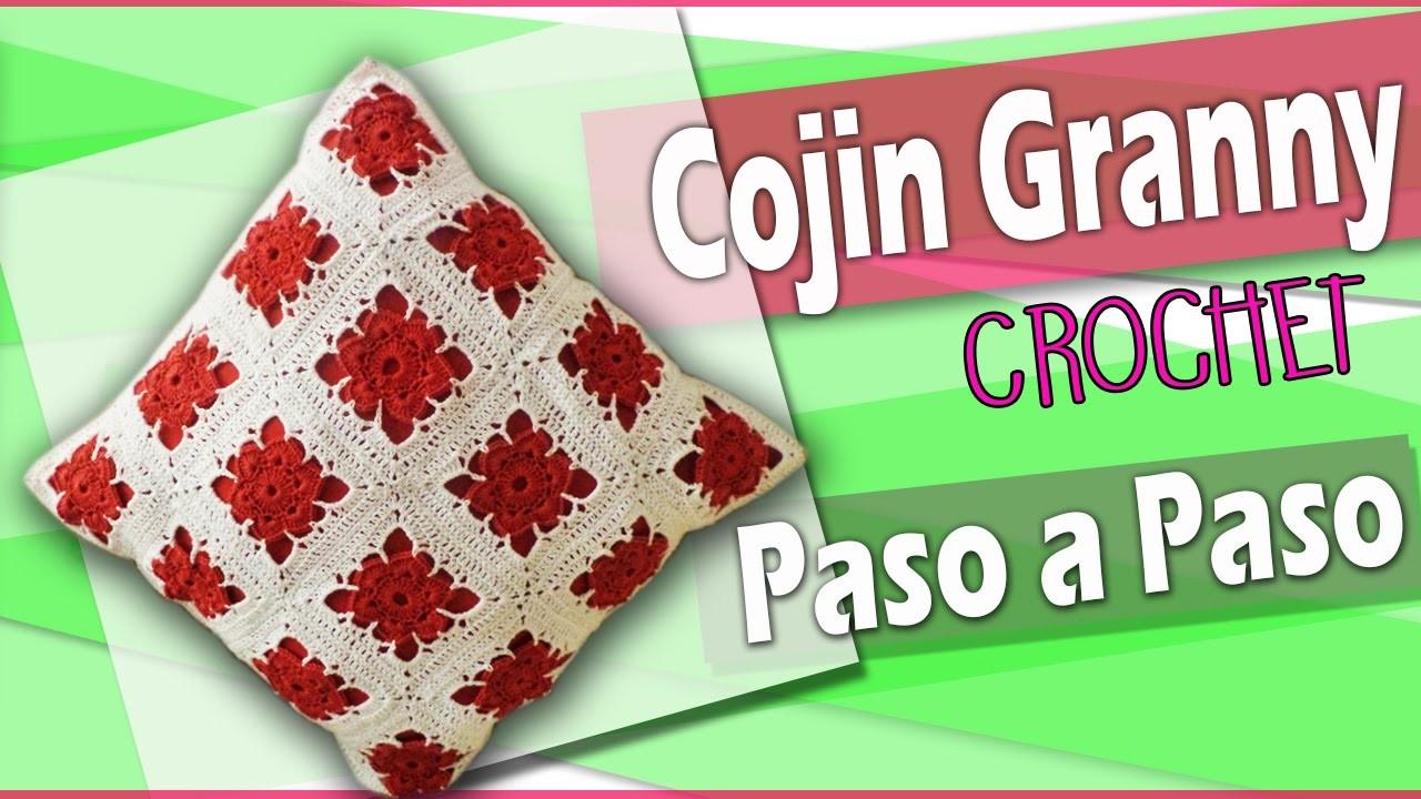 COJIN granny Tejido a crochet - tutorial Paso a Paso