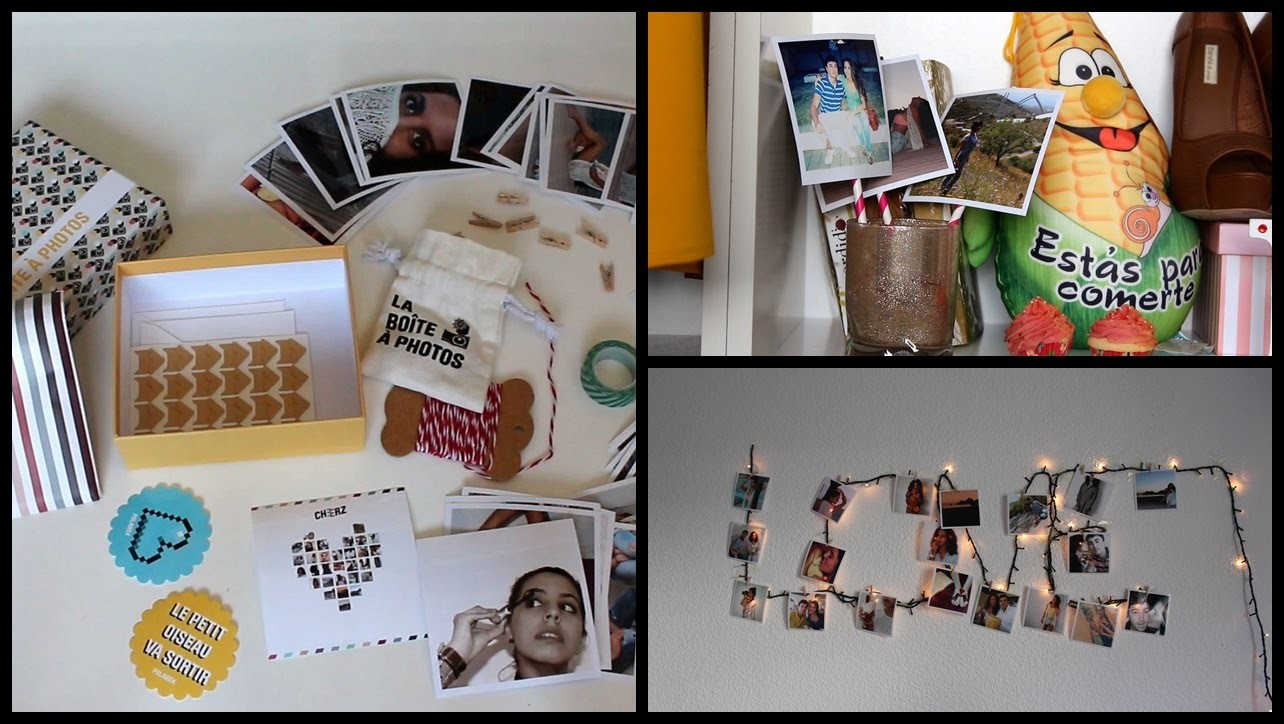 DIY con fotos ♥ Ideas para decorar tu habitación   Gadorvision