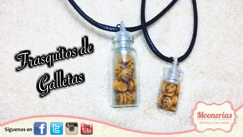 Galletas de Arcilla Polimérica Fácil. Polymer Clay cookies EASY
