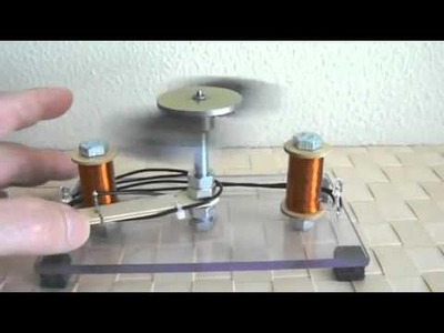Increíble Motor de  Imán 1 de 2 fake lleva pilas