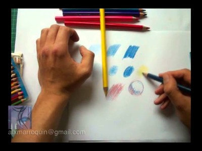 Lápices de color - tutorial