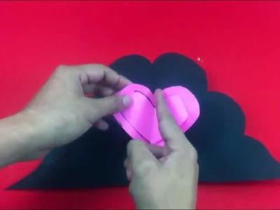 Tarjeta de amor a mano - Especial enamorados