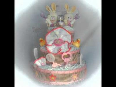 Tartañal - tartas de pañal - http:.regalosoriginalesdebebe.es.