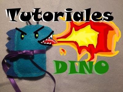 Tutorial peluche de dinosaurio