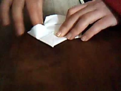 Una caja de bombones de papel.