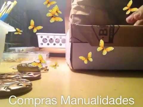 Vlog 4.1 - COMPRAS MANUALIDADES E INFORMACION IMPORTANTE.  Craft Haul #Unboxing