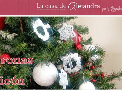 Coronas de Silicón para tu Arbolito DIY Alejandra Coghlan