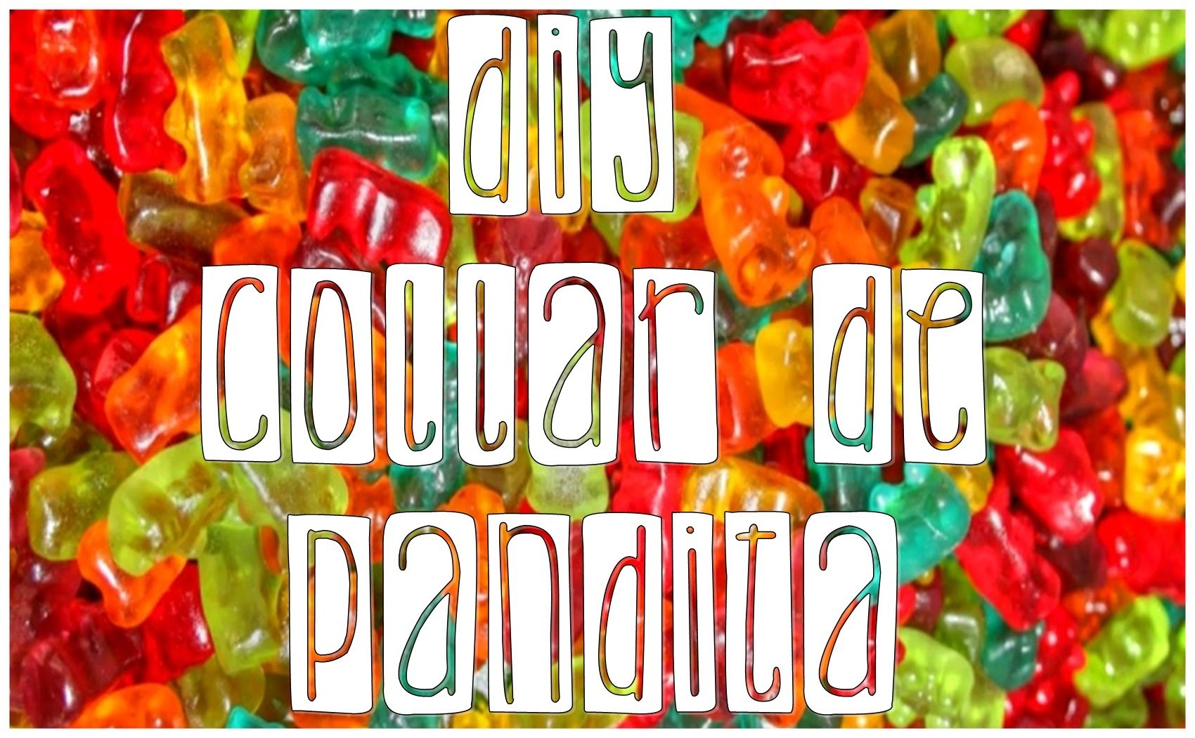 DIY: Collar de Pandita [Super Facil] - Gaga Kiuds