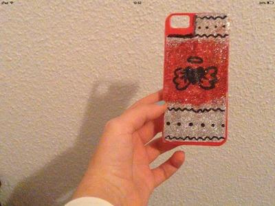 DIY - Como decorar tu funda para el móvil