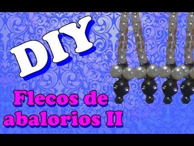 DIY - Flecos de abalorios II Ganador del sorteo!