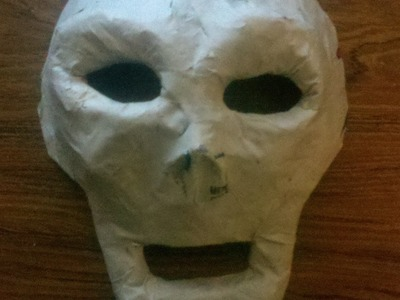 DIY Paper Mask, Cómo hacer una máscara de papel.