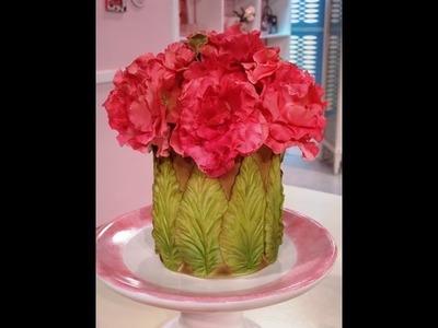 Como hacer flores con modelado en azúcar - Especial Deco Tortas