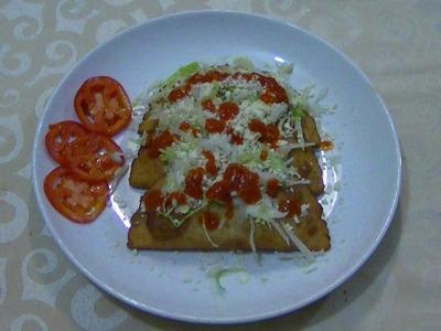 Cómo hacer quesadillas fritas - CHUCHEMAN1 - 2012